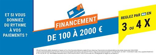 Service Financement En Magasin